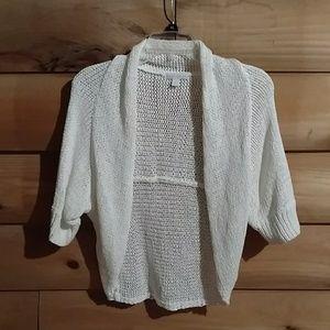 Shrug sweater jacket